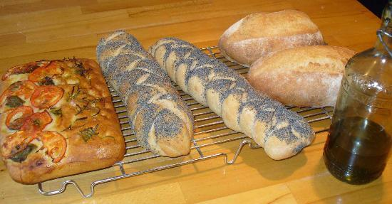 Manna from Devon Cooking School: Day one - we made 3 types of bread