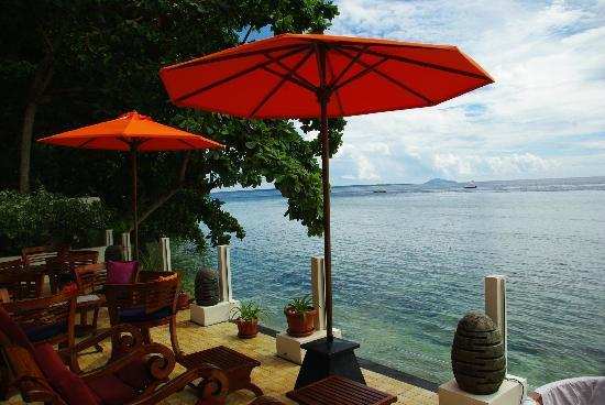 Bunaken Cha Cha Nature Resort: View from Resort