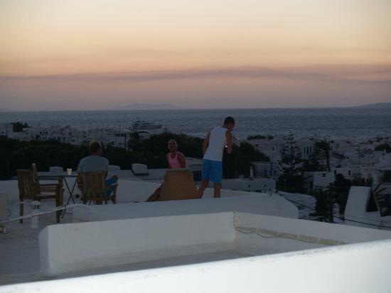 Hotel Elena: Sonnenuntergang vom Dach