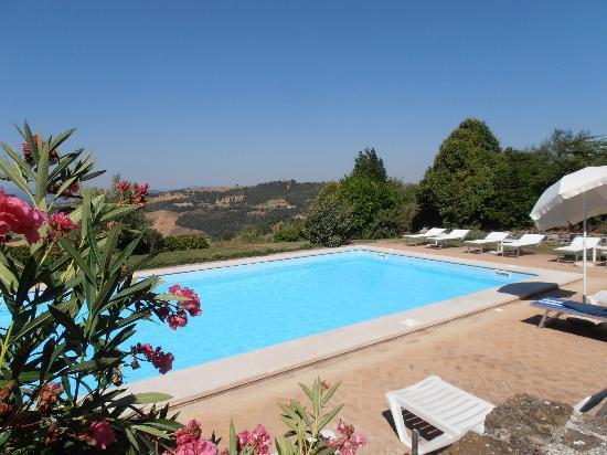 Agriturismo Le Casacce: La piscina