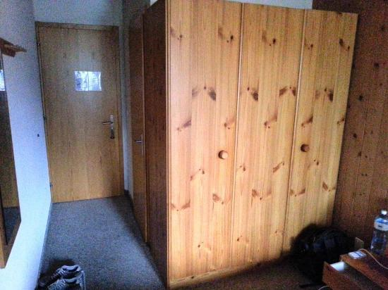 Waldhotel Bellary : A fairly big wardrobe is provided in each room.