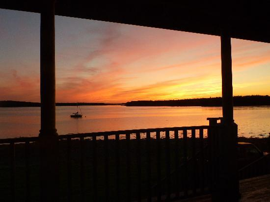 Argyler Lodge: Beautiful sunsets