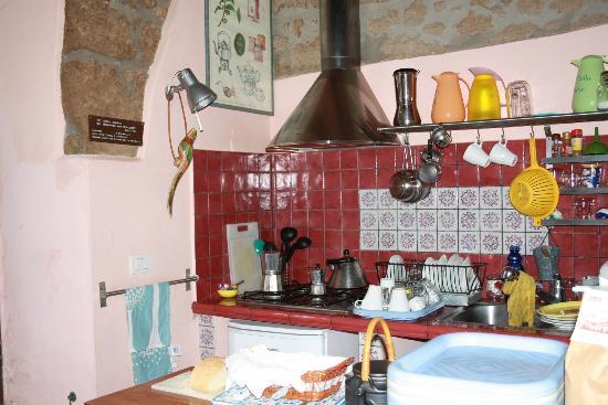 La Casa dei Carrai: La cucina