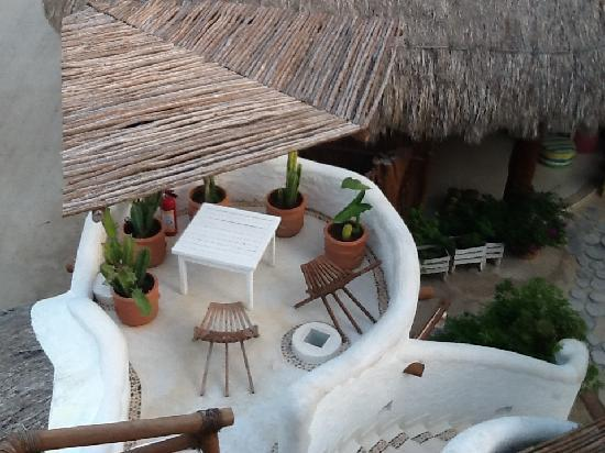Holbox Hotel Casa las Tortugas - Petit Beach Hotel & Spa: Patio