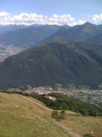view from monte Tamaro