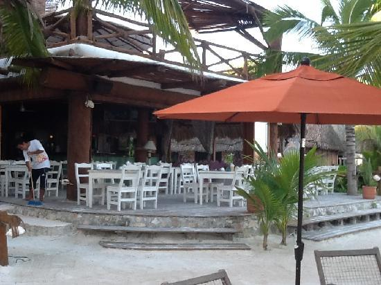 Holbox Hotel Casa las Tortugas - Petit Beach Hotel & Spa: restaurant Mandarina