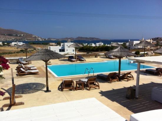 Anemoi Resort: vista dalla camera 2
