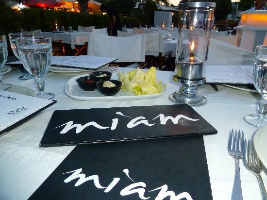 Miam Restaurant: Miam