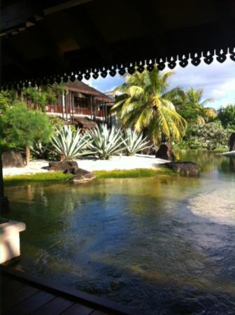 Sofitel Mauritius L'Imperial Resort & Spa: vue du SPA (salle de repos)