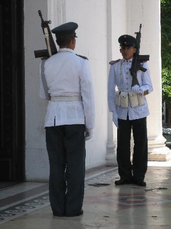 Legislative Palace (Palacio Legislativo) : Guardias