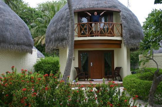 Bandos Maldives: Jacuzzi beach bungalow