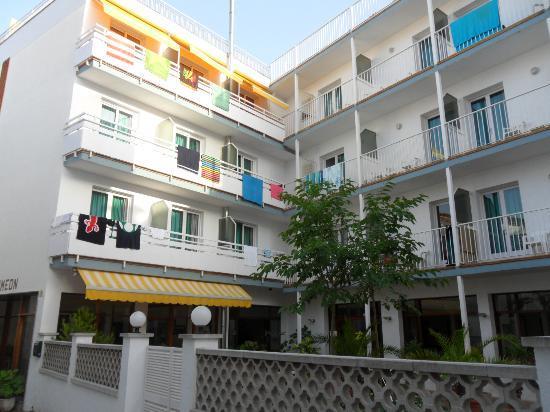 Hotel Simeon: vista hotel