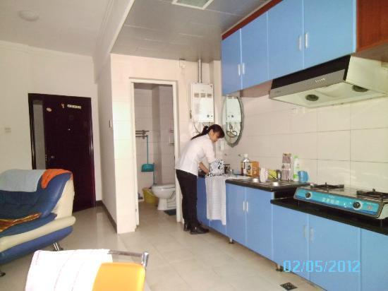 Dingwangtai Apartment Hotel