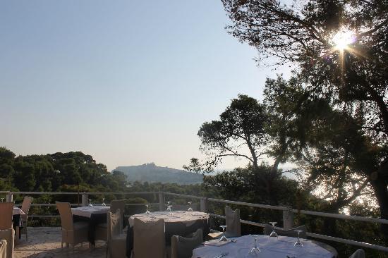 Vista Della Terrazza Del Ristorante Picture Of Hotel Eden