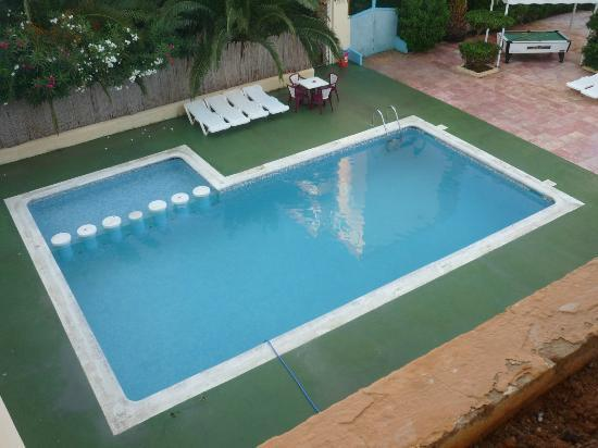 Apartments Arlanza: foto preso dal terrazza 2 piano