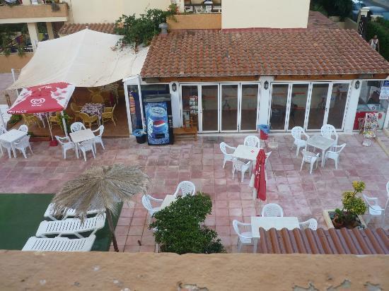 Apartments Arlanza: foto preso dal terrazza