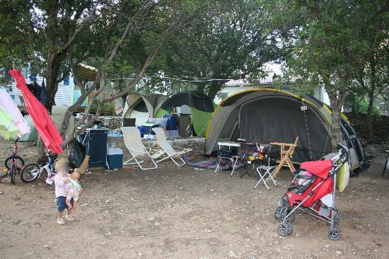 Campo di Liccia : piazzole campeggio