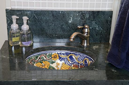 Cute Large Bathroom Wall Tiles Uk Tall Steam Bath Unit Kolkata Round Bathroom Mirror Circle Spa Like Bathroom Ideas On A Budget Young Lamps For Bathroom Vanities GreenTop 10 Bathroom Faucet Brands Hand Painted Mexican Sink In Shared Bathroom   Picture Of 167 ..