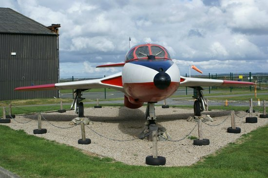 Dinas Dinlle, UK: Caernarfon Airworld outside