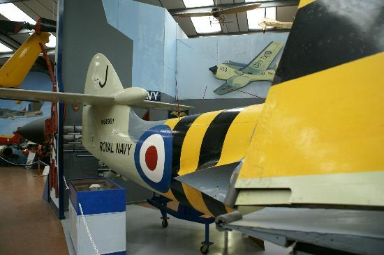 Airworld Aviation Museum: Caernarfon Airworld inside