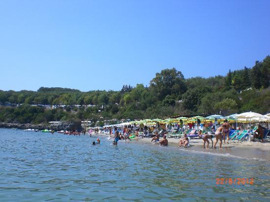 Villaggio Delle Sirene: La spiaggia