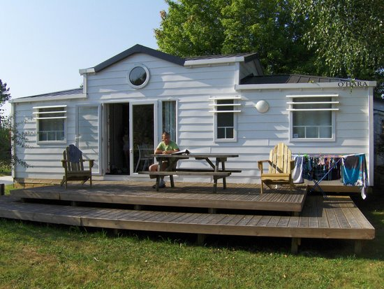 Le Village Western : Mobile-home type Lafayette
