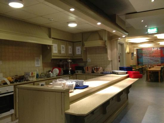 Kinlay Hostel Galway : cucina comune