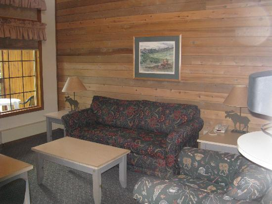 Kenai Princess Wilderness Lodge: Nice sitting room