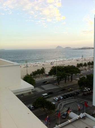 Belmond Copacabana Palace: vista do quarto