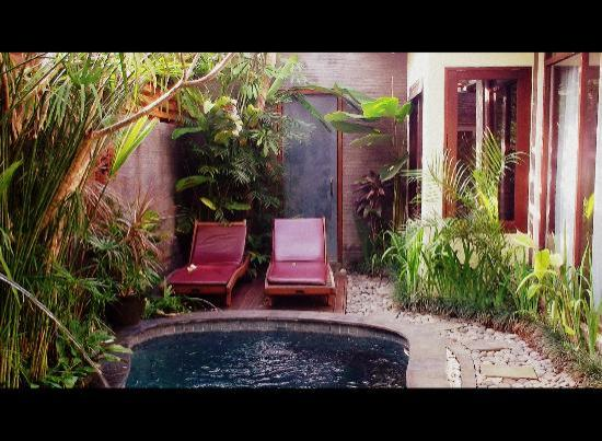 Bali Dream Suite Villa: The loungers