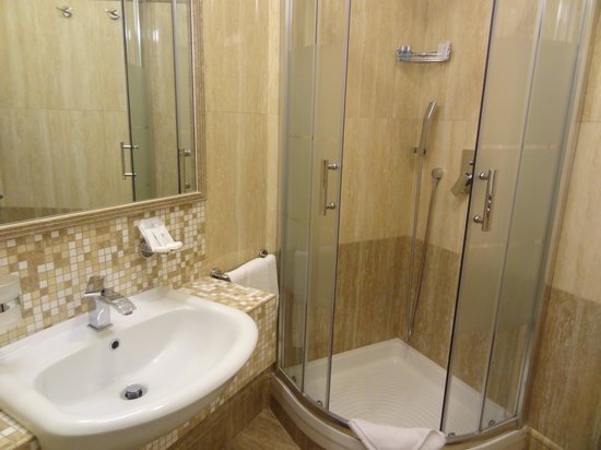 Fellini Inn Rome: la salle de bain