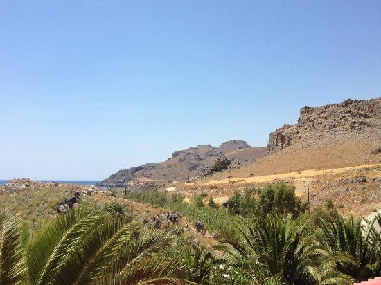 Hotel Ammoudi: Panorama dalla camera