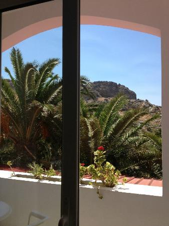 Hotel Ammoudi: Panorama dal balconcino
