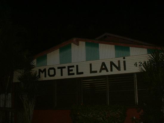 Motel Lani: hotel entrance
