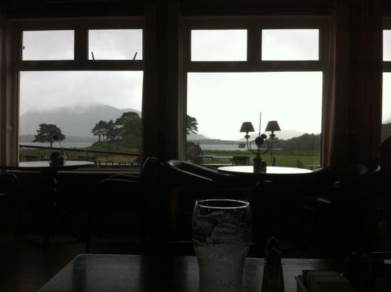 Lake Hotel: what a view to have with your Tea