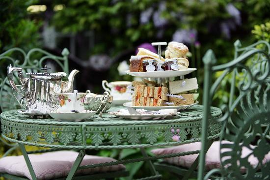 Traditional Afternoon Tea With A Glass Of Fizz Divine