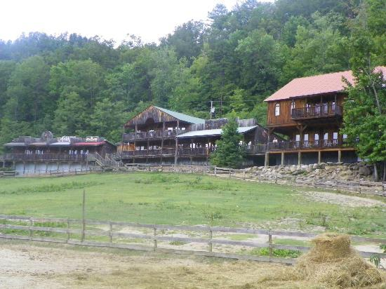 French Broad Outpost Ranch: View from the Road