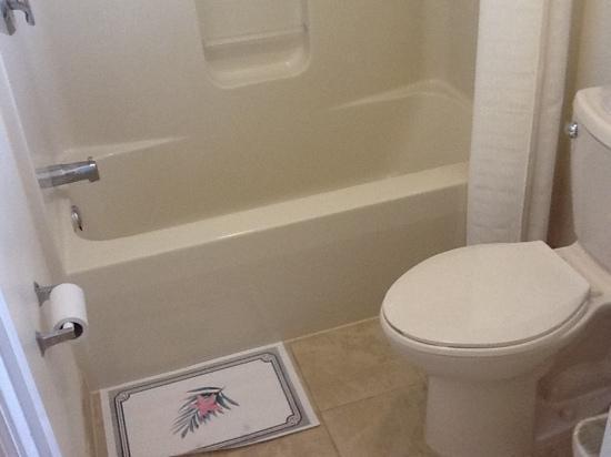 Passport Inn: bathroom newly renovated