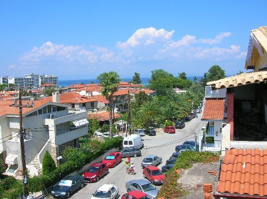 Hanioti Grand Victoria: Вид с балкона