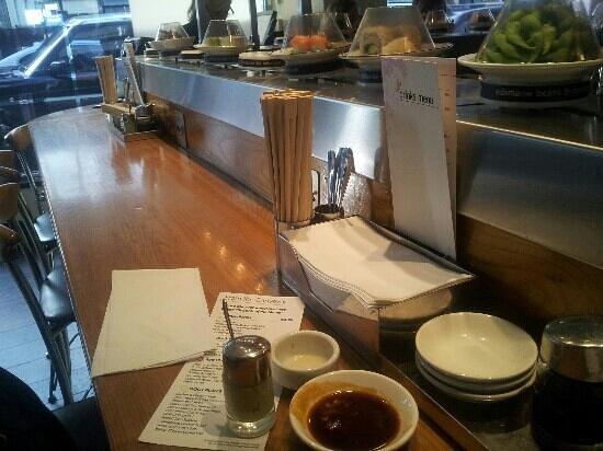 Itsu Sushi : wasabi magic