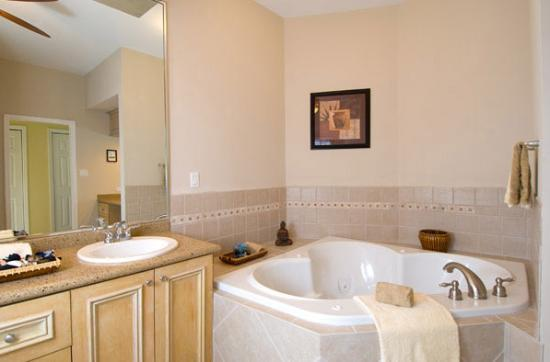 Breezy Palms Villa : Master Bathroom