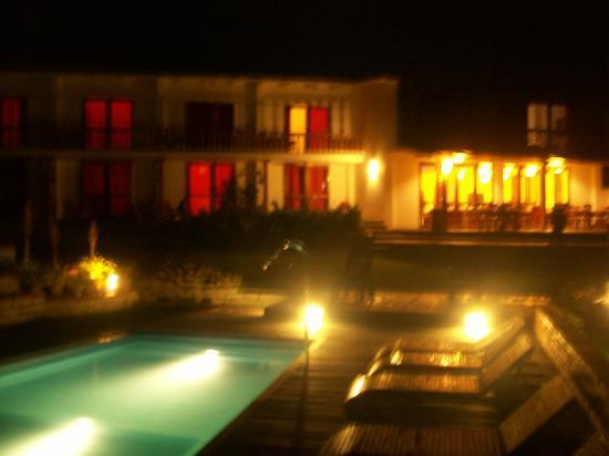 Gocta Andes Lodge: Vista nocturna