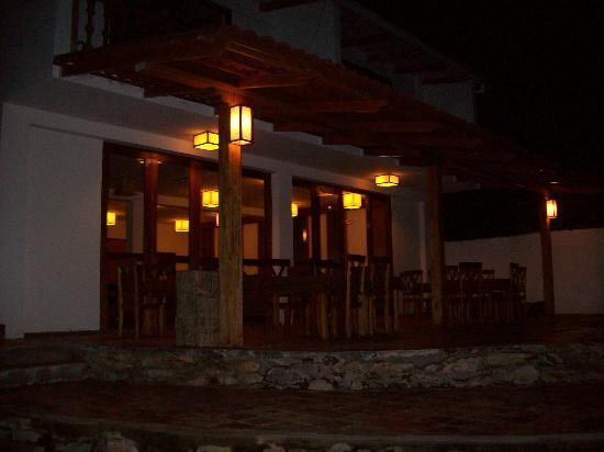 Gocta Andes Lodge: Vista del comedor