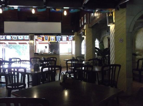 El Sano Banano Restaurant: El Sano Banano from the inside