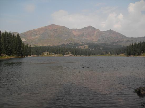 Kebler Pass: lake Irwin