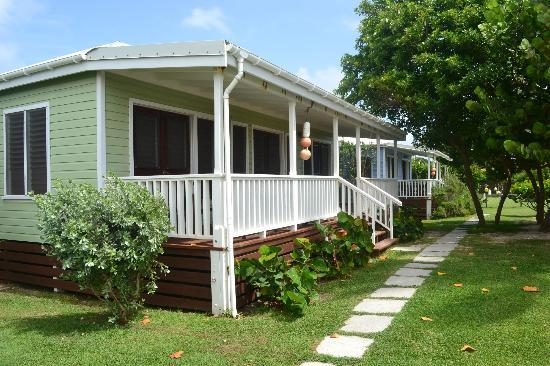 Dutchman's Bay Cottages: front beach double room cottage
