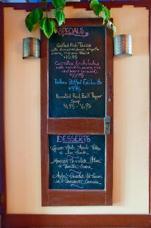 Chimayo En El Dia: Special Board!