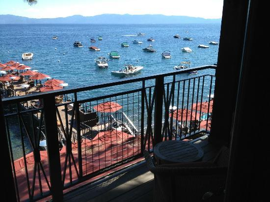 West Shore Cafe and Inn: View from bedroom balcony