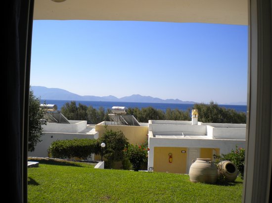 Dimitra Beach Hotel: La vista al risveglio