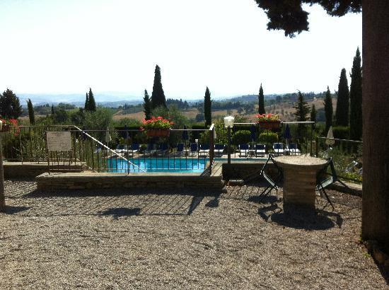 Il Casale del Cotone: Pool and View